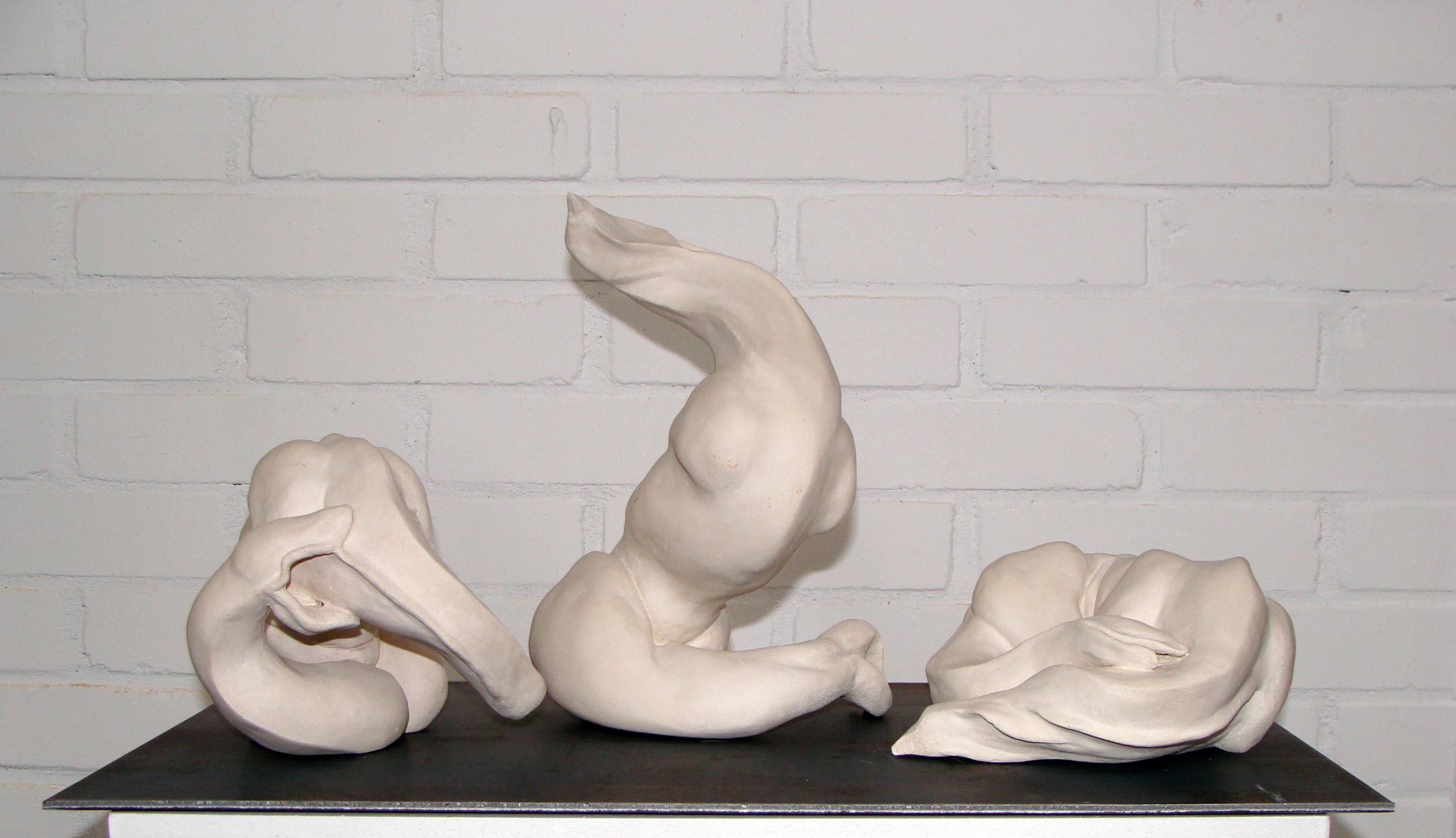 """""""Community"""", december 2011, january 2012, unglazed stoneware."""