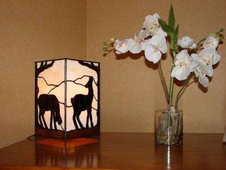 """""""Doe"""", 2006, tiffany, lamp"""
