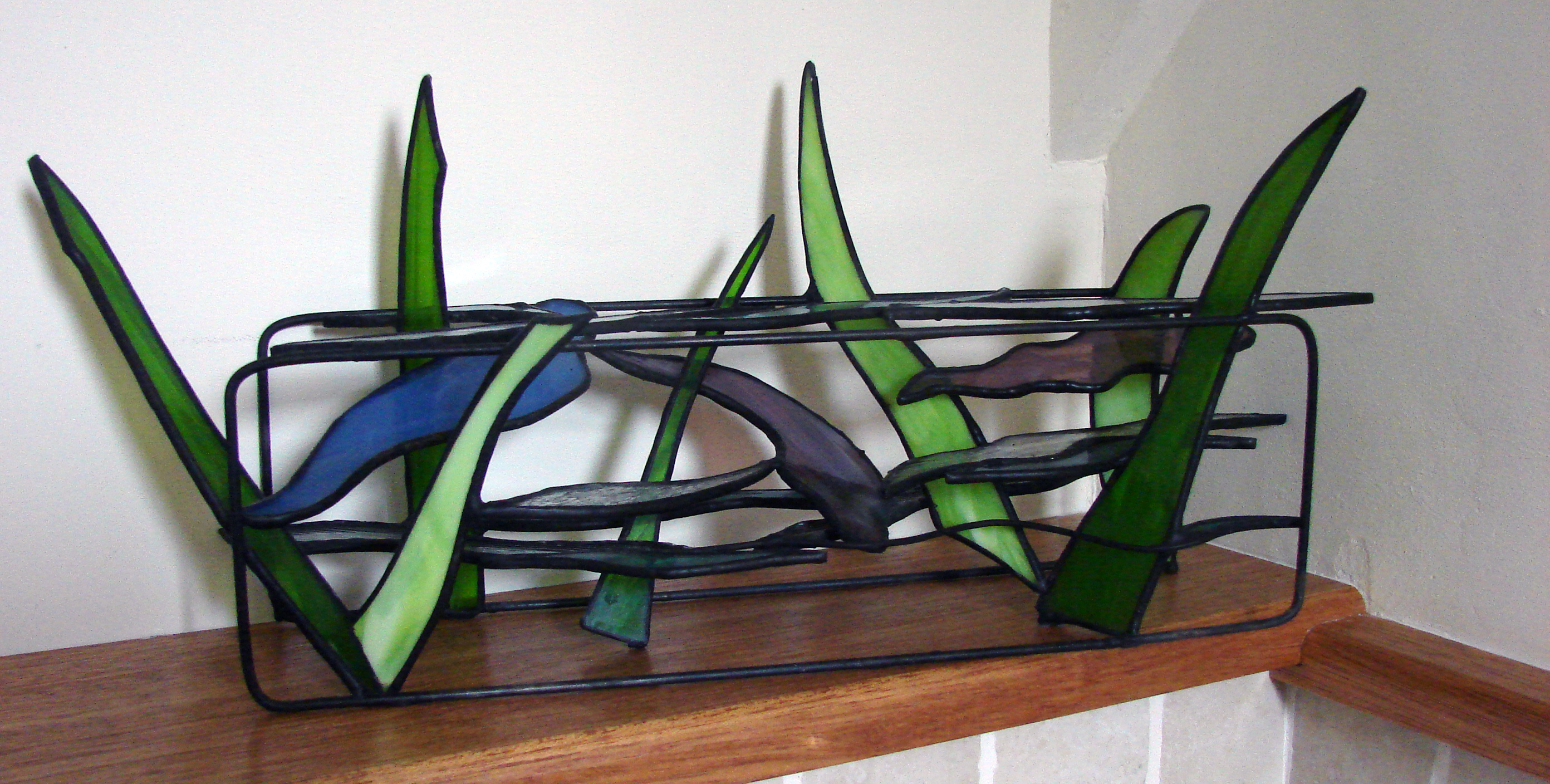 Flow, 2006, tiffany sculpture